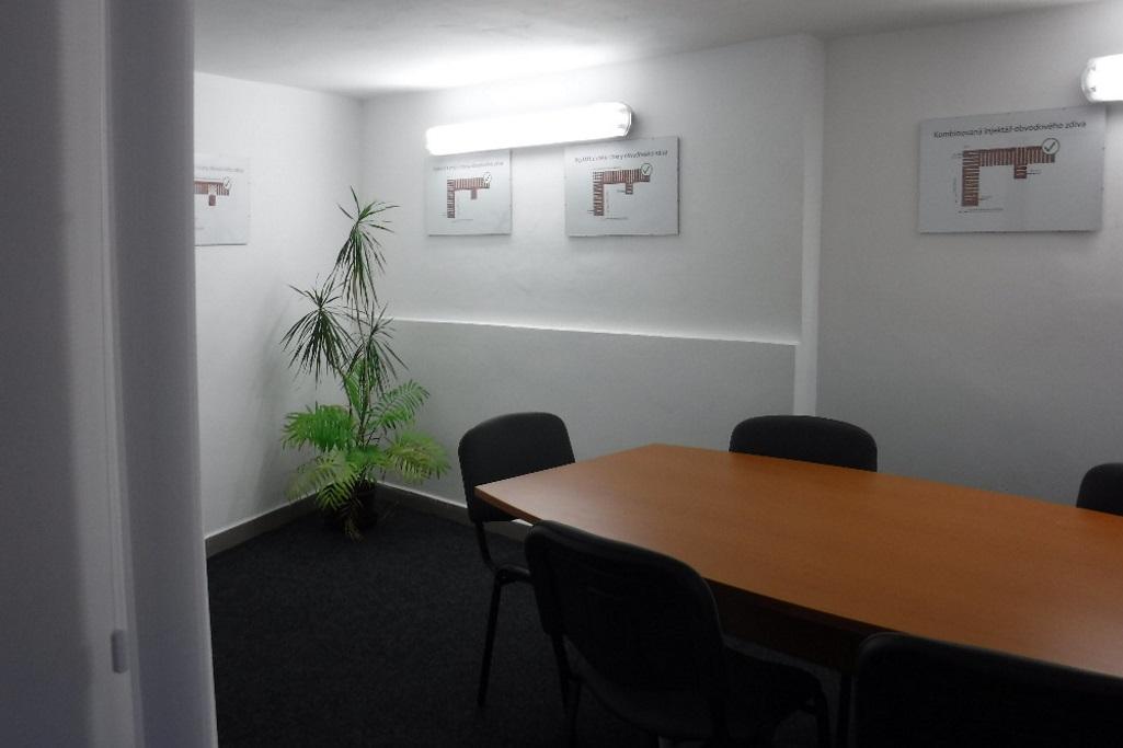 Jednací místnost a místnost pro školení firem