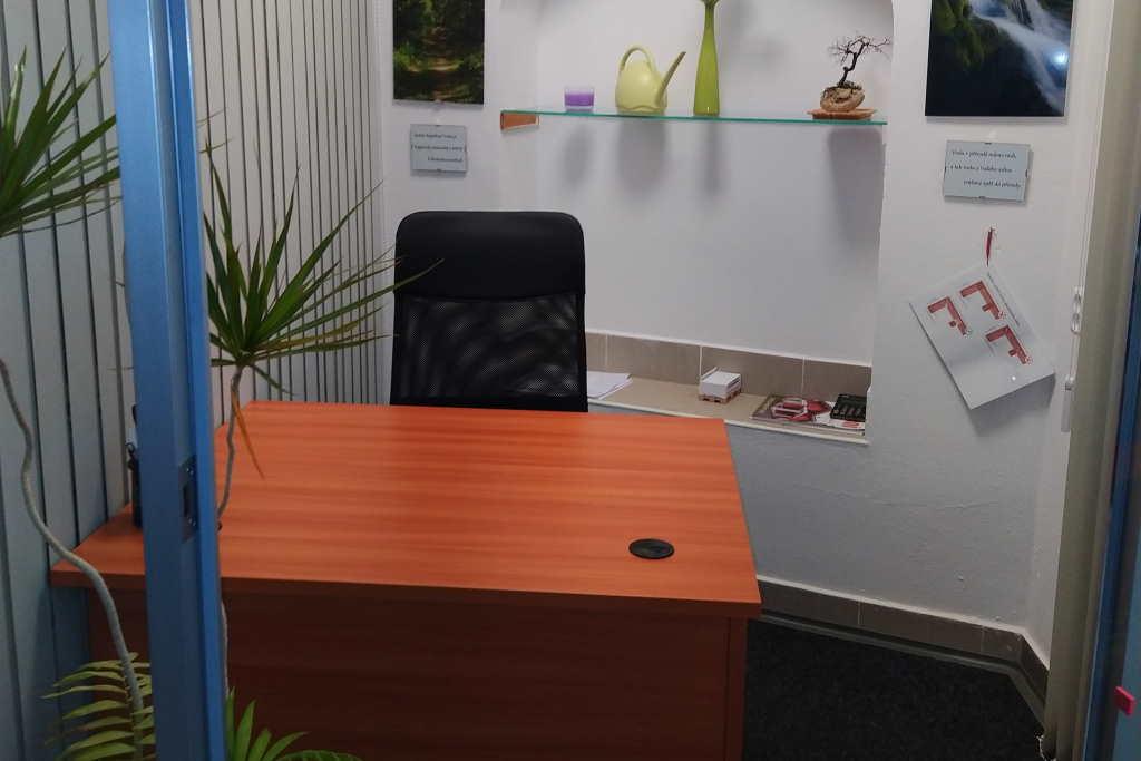 Kancelář vedoucího výroby
